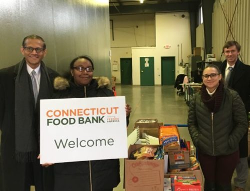 Food drive for Connecticut Food Bank 2018