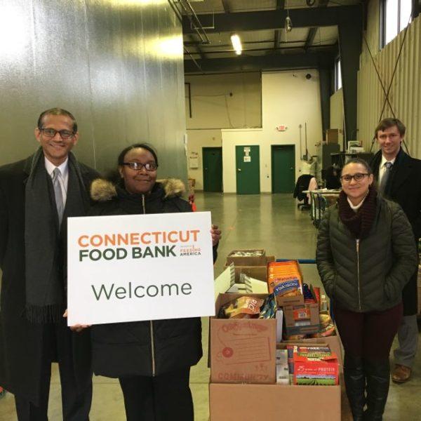 food bank dropoff