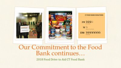 food drive collage